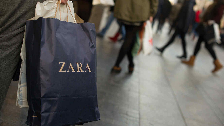 Compras en tiendas Zara