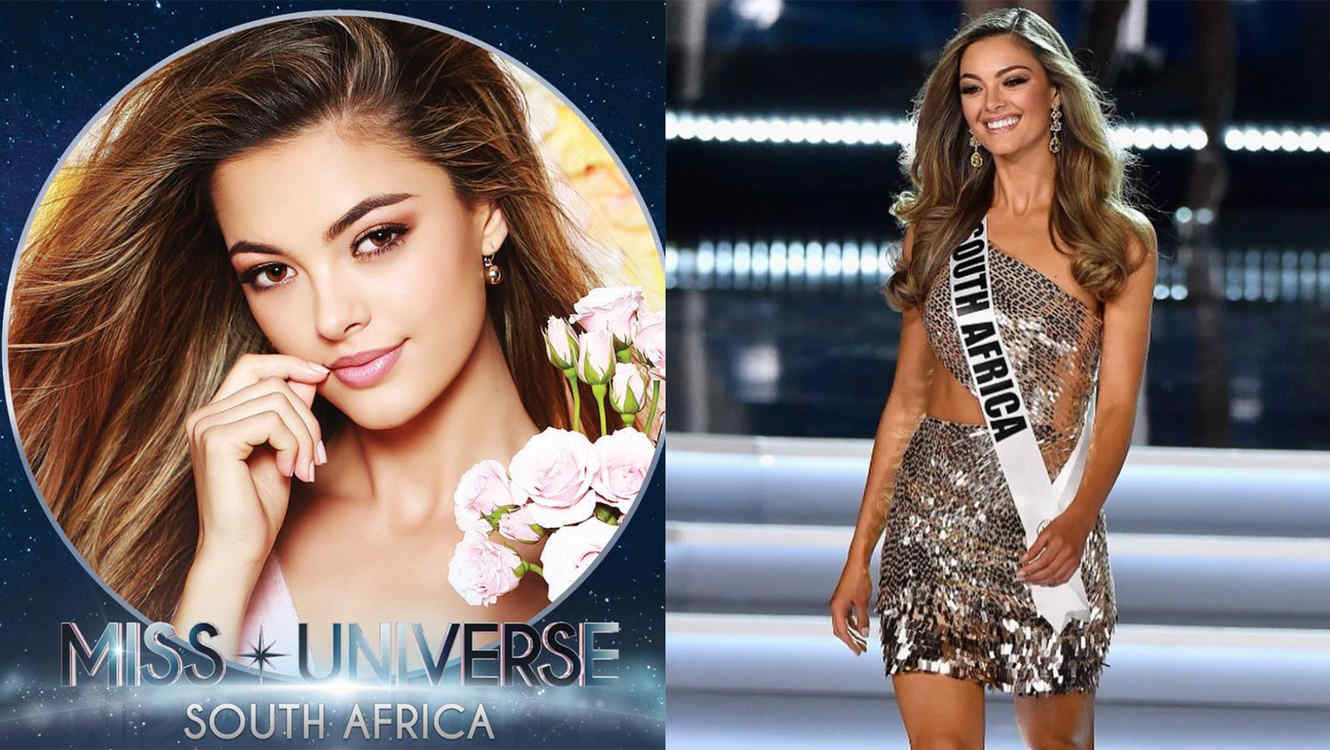 Meet Your New Miss Universe 2017: Demi-Leigh Nel-Peters
