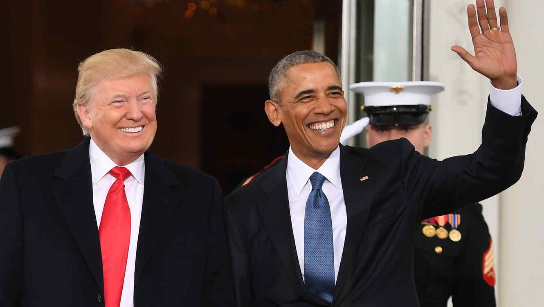 Obama venció a Trump en Twitter