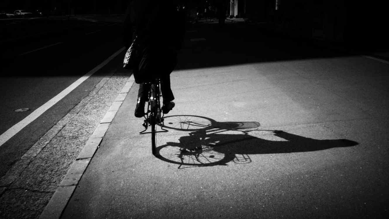 Ciclista nocturno