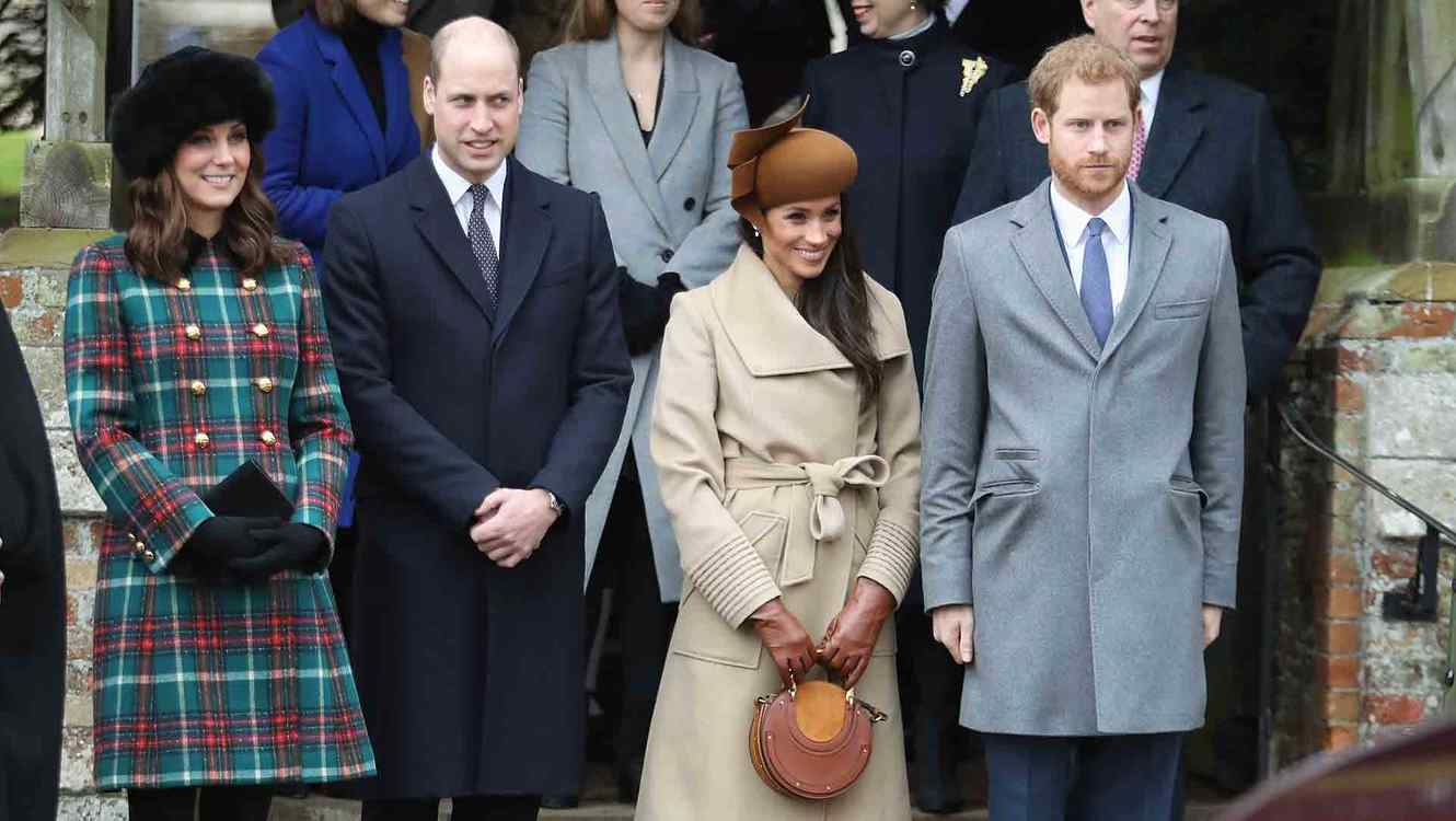 Megan Markle and the Royal Family Attend Christmas Service: See Photos Here