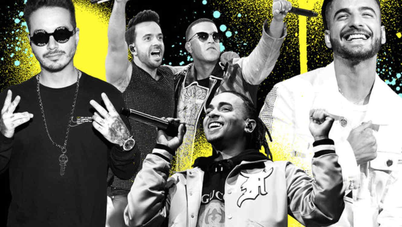 J Balvin, Luis Fonsi, Daddy Yankee, Ozuna, Maluma