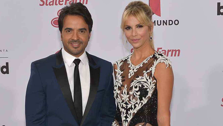 Luis Fonsi y Agueda Lopez