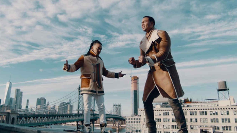Ozuna y Romeo Santos