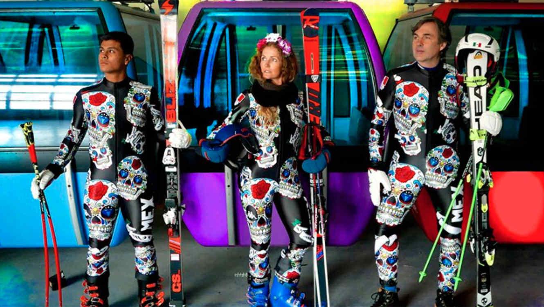 Mexico olympic ski team