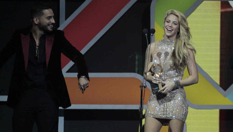Shakira y Maluma comparten íntimo video en redes