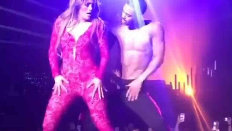 El impresionante baile de Jennifer Lopez en Las Vegas