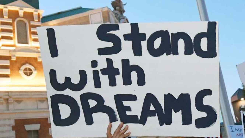 "La lucha de los ""Dreamers"" continua."