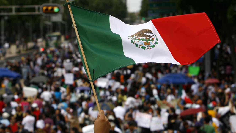 Una marcha durante la elecciones intermedias en la Ciudad de México, en esta foto de archivo del 7 de junio de 2015.