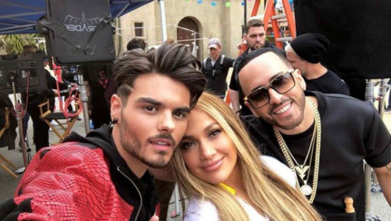 Jennifer Lopez y Yandel dan un adelanto de su nueva colaboración (FOTOS)