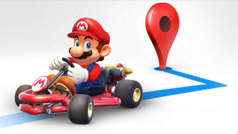 Mario Kart en Maps