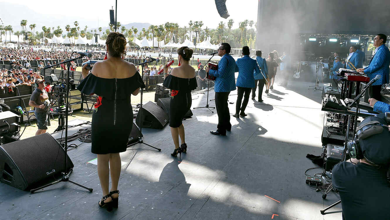 #EnVivo Los Ángeles Azules en Coachella