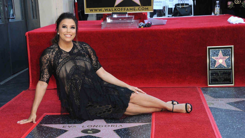 Eva Longoria recibe estrella