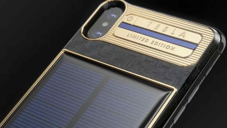 Lanzan a la venta un iPhone X de lujo con