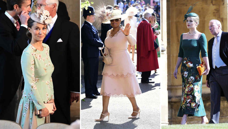 Vestidos invitada boda real