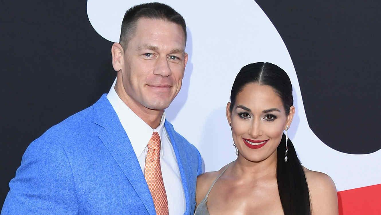 John Cena y Nikki Bella están juntos de nuevo luego de cancelar su ... aee7a452240
