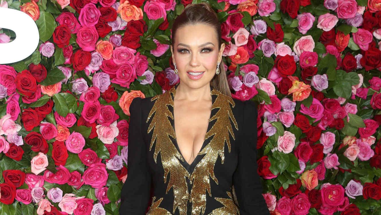 Thalía en los premios Tony
