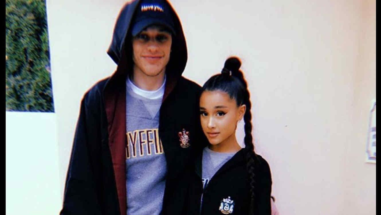 Ariana Grande y su novio