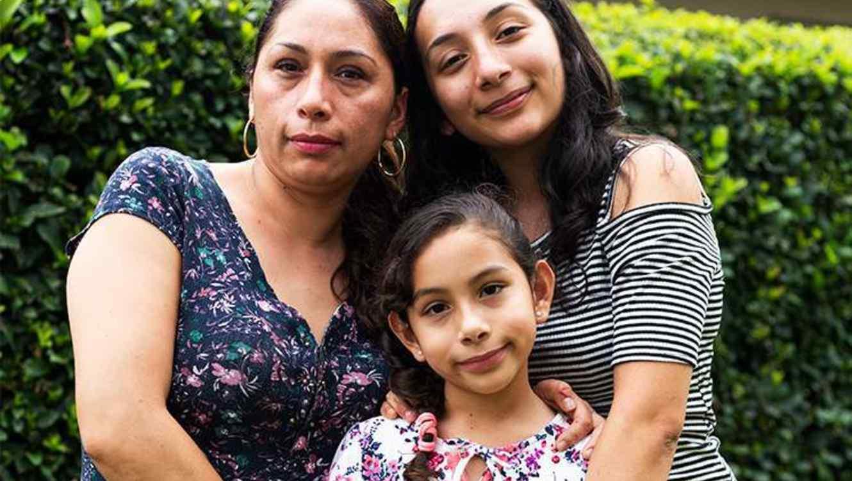 Alejandra Juárez llegó a EEUU cuando era una adolescente.