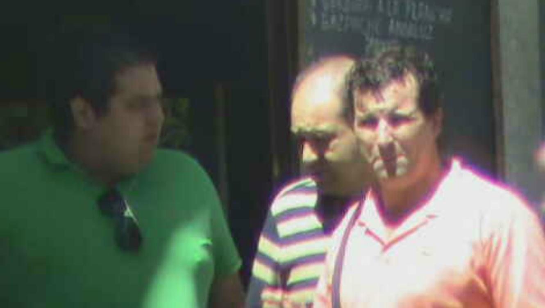 El 'Mono Muñoz' fue detenido en un lujuso vecindario de Madrid.