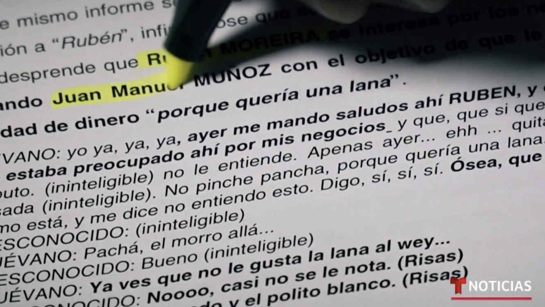 Los documentos policiales a los que tuvo acceso Noticias Telemundo Investiga mencionan las relaciones entre el cártel de Los Zetas y poderosos políticos mexicanos.