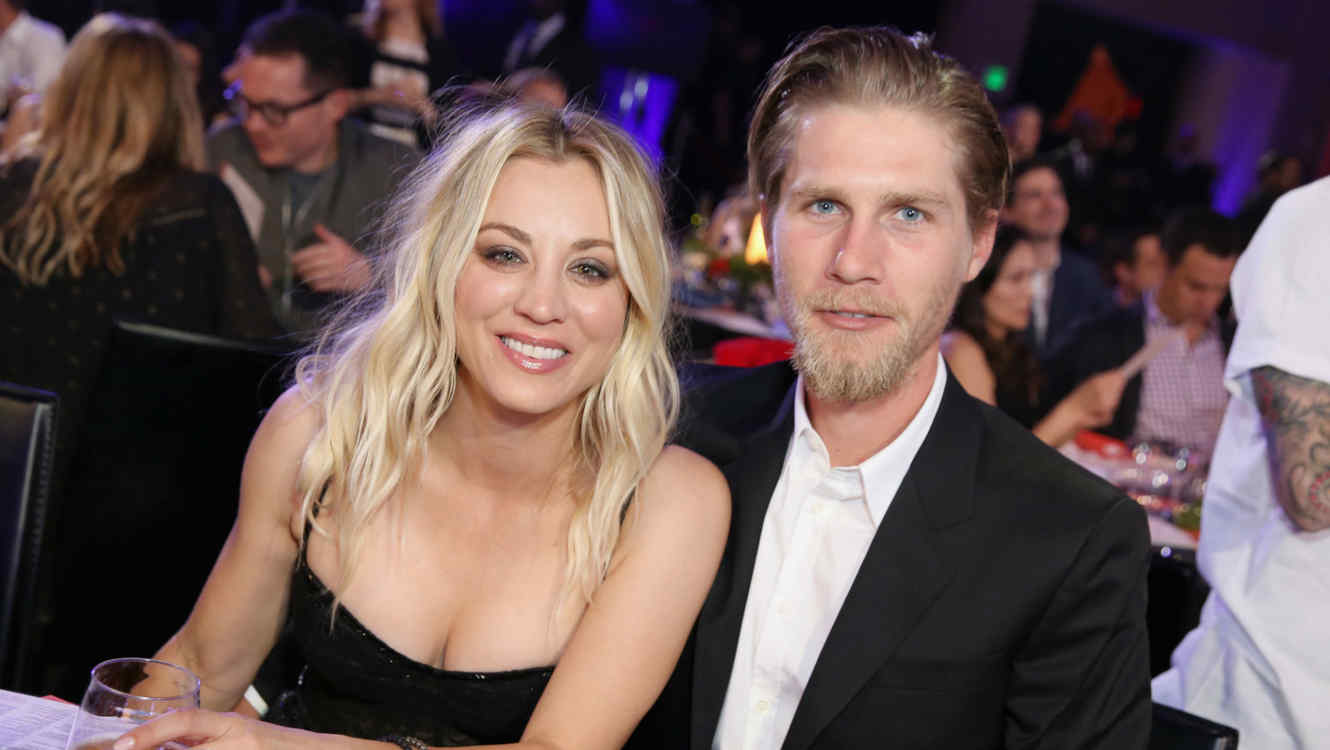 Kaley Cuoco con Karl Cook