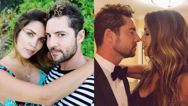 David Bisbal and Rosanna Zanetti
