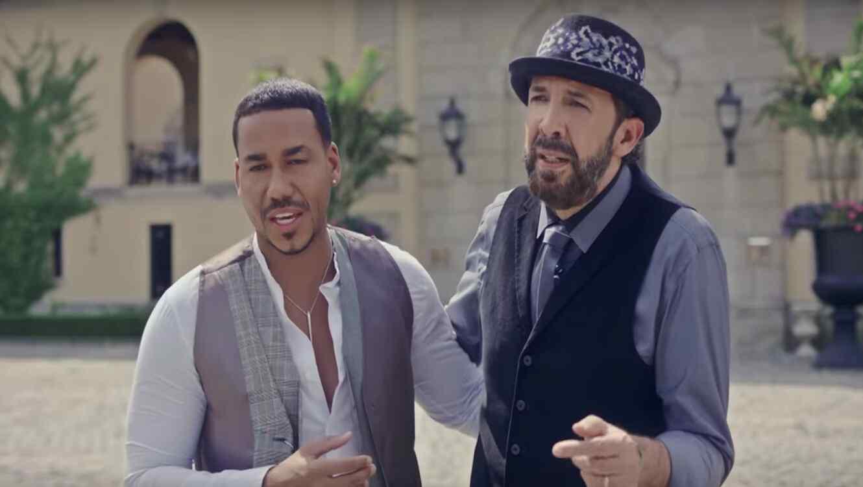 ¡Sueño cumplido!: Romeo Santos y Juan Luis Guerra juntos