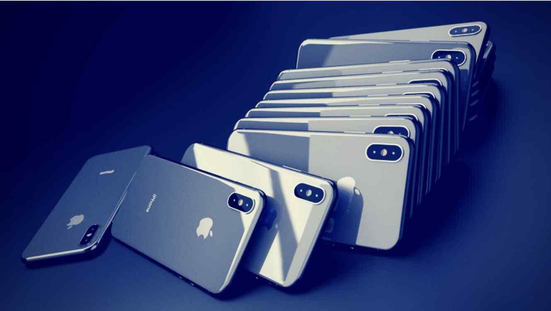 Al registrar al pequeño de apellido Li se sorprendieron al descubrir que llevaba 40 iPhone Xs, tanto en su cuerpo como en su mochila.