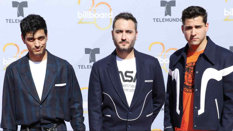 Reik at the Billboard Latin Music Awards