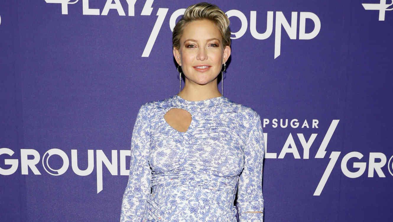 Kate Hudson vestido azul