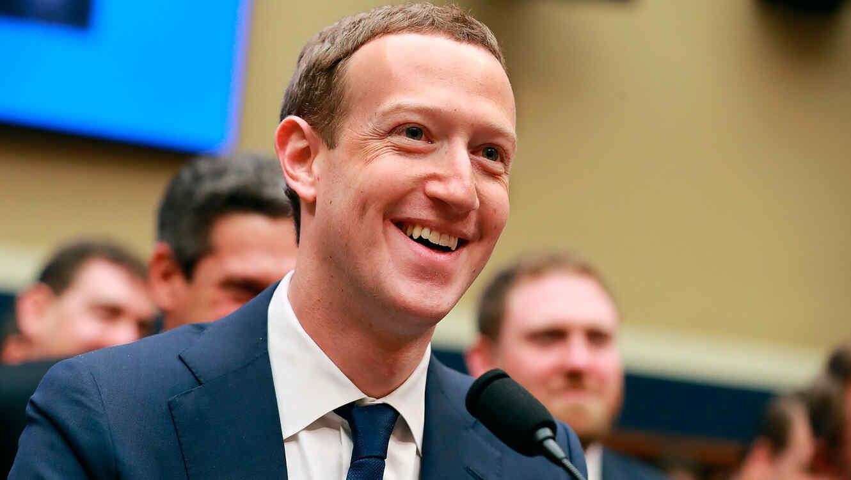 Mark Zuckerberg en conferencia