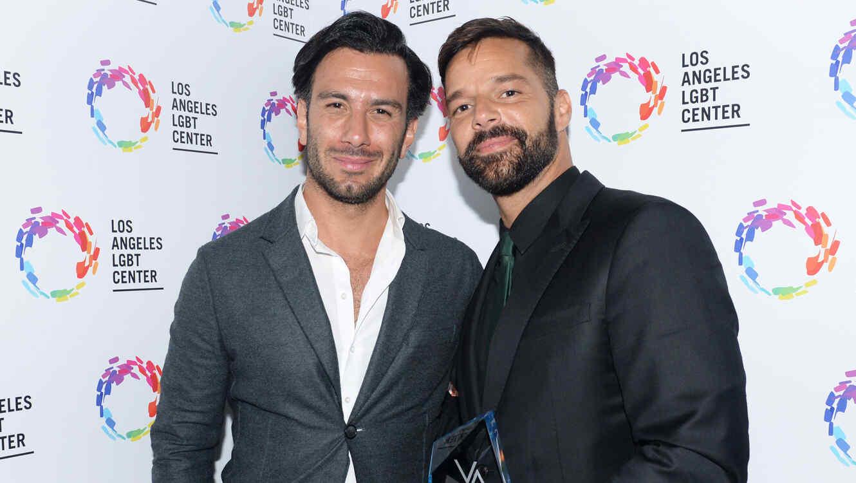 Ricky Martin y su esposo