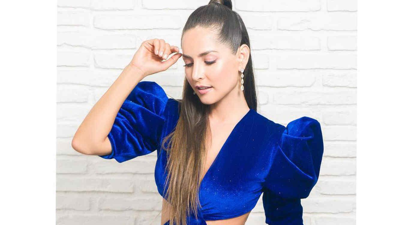 Modelos de vestidos para fiesta azul electrico