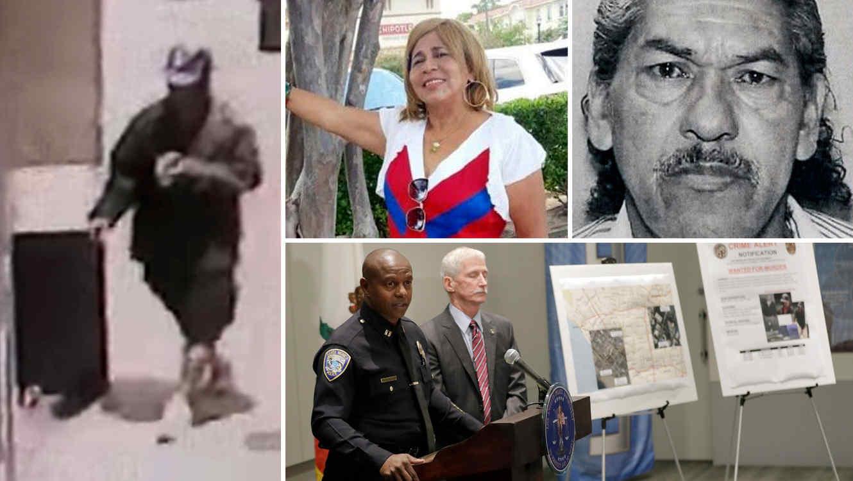 Ramón Escobar (izquierda) es sospechoso de golpear a siete personas con un bat y se le investiga por la desaparición de dos familiares en Houston.
