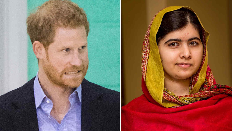 Príncipe Harry y Malala