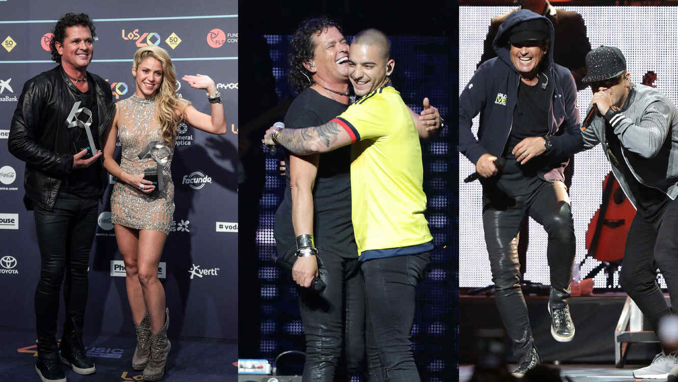 Carlos Vives collage
