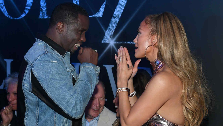 Diddy con Jennifer Lopez