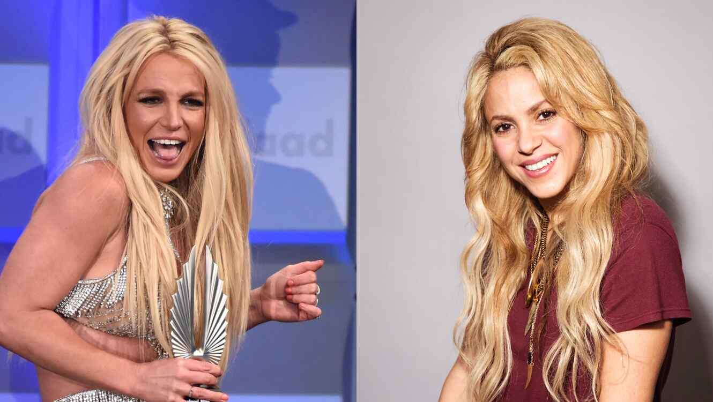 Britney Spears y Shakira