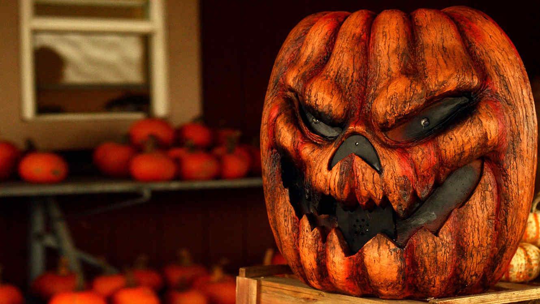 Calabaza decorativa de Halloween
