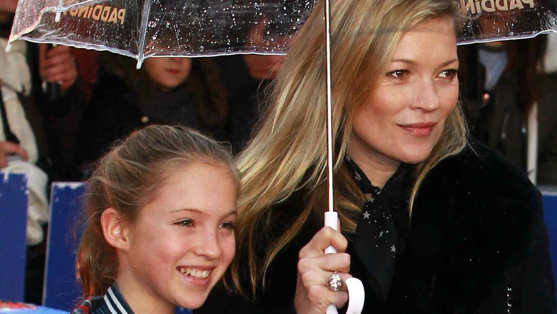 Kate Moss y su hija Lila