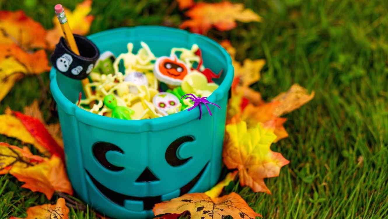 Balde de Halloween