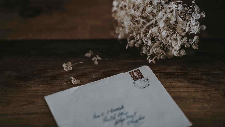 Carta con el último deseo antes de morir de una paciente con cáncer.