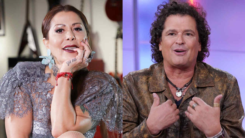 Alejandra Guzmán y Carlos Vives