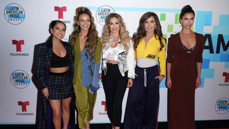 Latin AMAs women in music panel