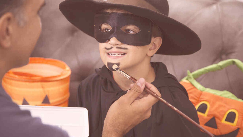 Padres e hijos disfraces de Halloween