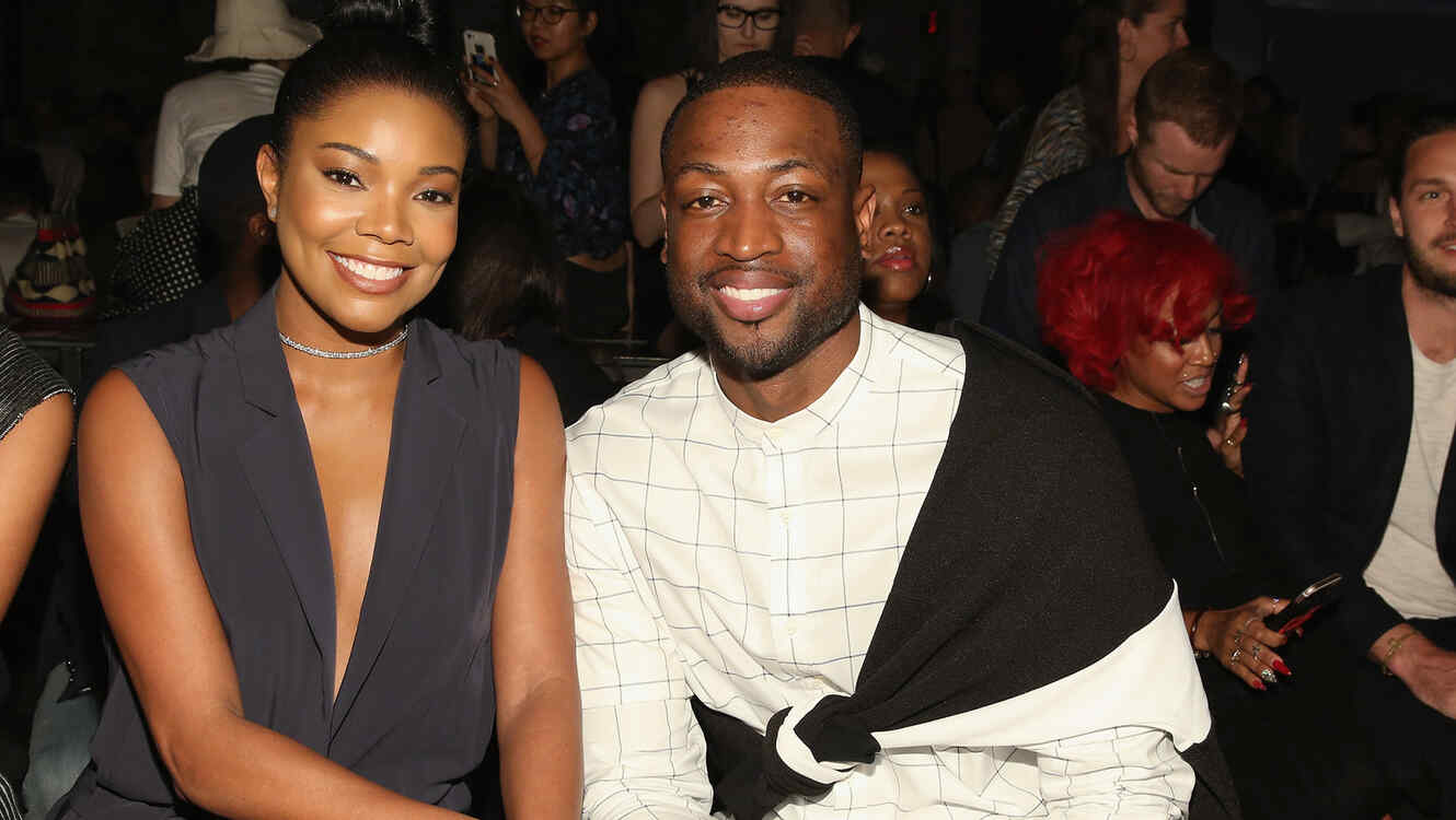 Dwyane and Gabrielle