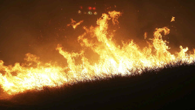 Fuegos forestales en California