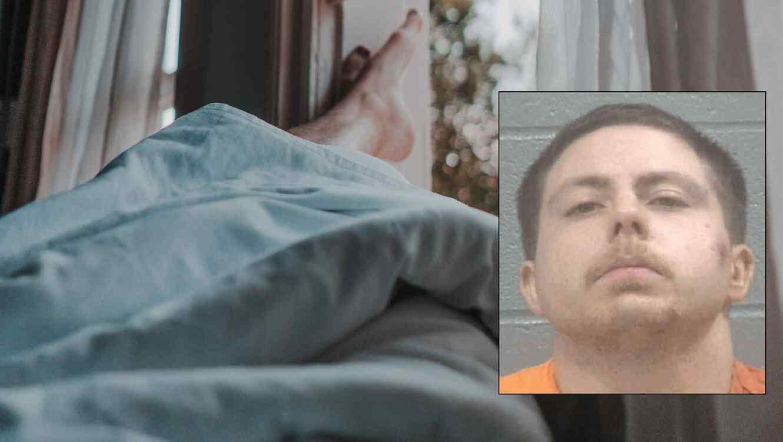 El sujeto se tornó violento al momento del arresto