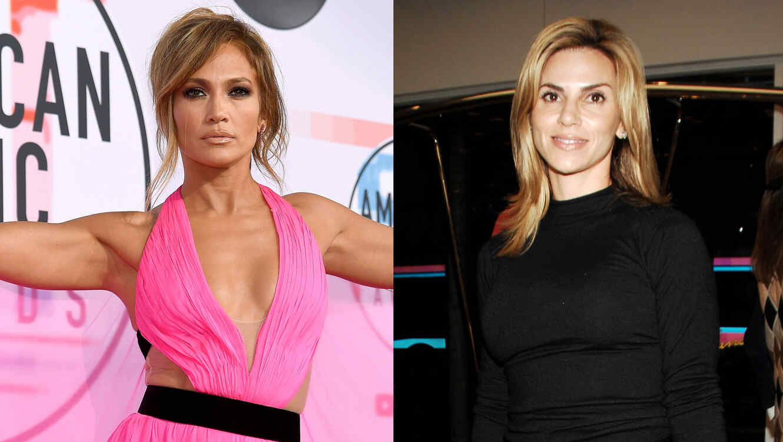 Jennifer Lopez y Cynthia Rodriguez